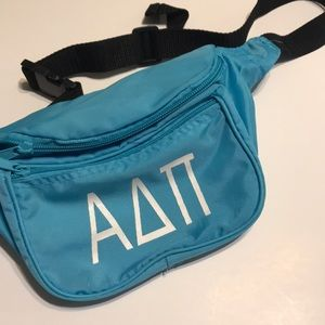 Handbags - Alpha delta pi ADPI fanny pack